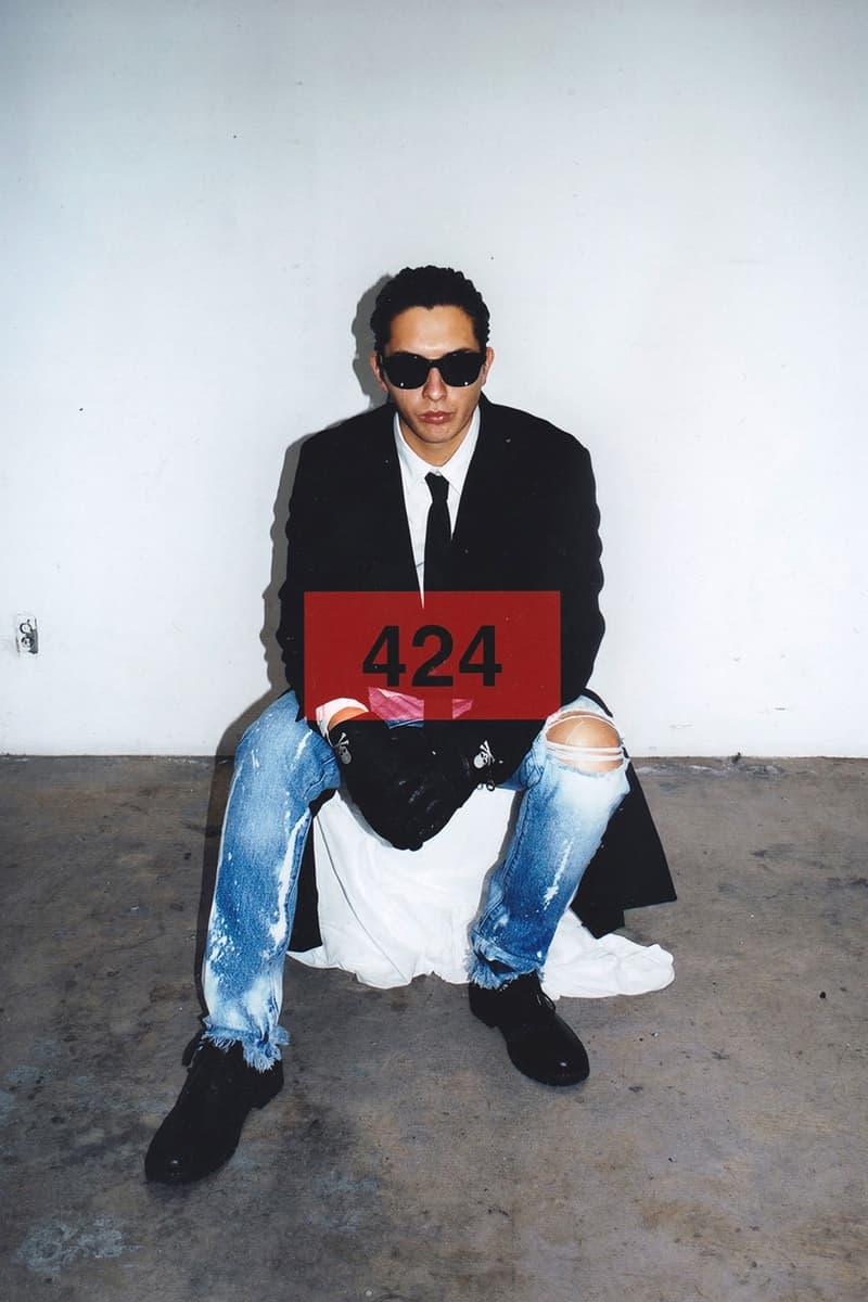 424 , 영화 '아메리칸 사이코'에서 영감을 받은 2020 봄, 여름 컬렉션 룩북 공개, 크리스찬 베일, 패트릭 베이트만
