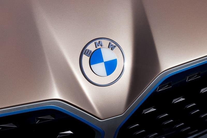 BMW 새 로고 공개, 엠블럼, 자동차, i4, 전기자동차