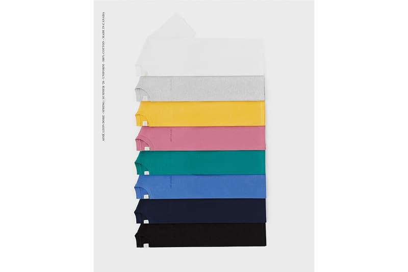 에임 레온 도르, 유니폼 프로그램 공개, 스웨터, 티셔츠, 후디, 반바지