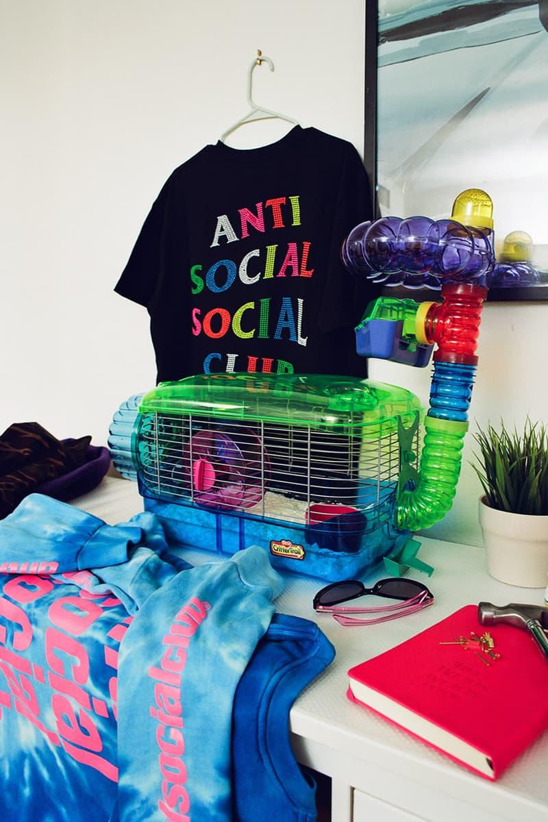 안티 소셜 소셜 클럽 2020 봄, 여름 'Hung Up' 룩북 & 발매 정보, 히스테릭 글래머 협업