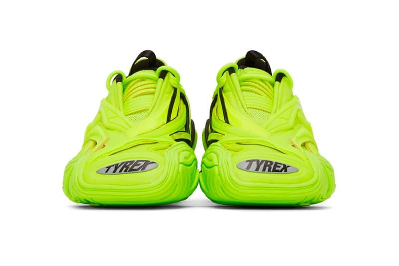 발렌시아가, 타이렉스, 플루오 옐로우, 발렌시아가 스니커즈, 발렌시아가 신발, 발렌시아가 타이렉스