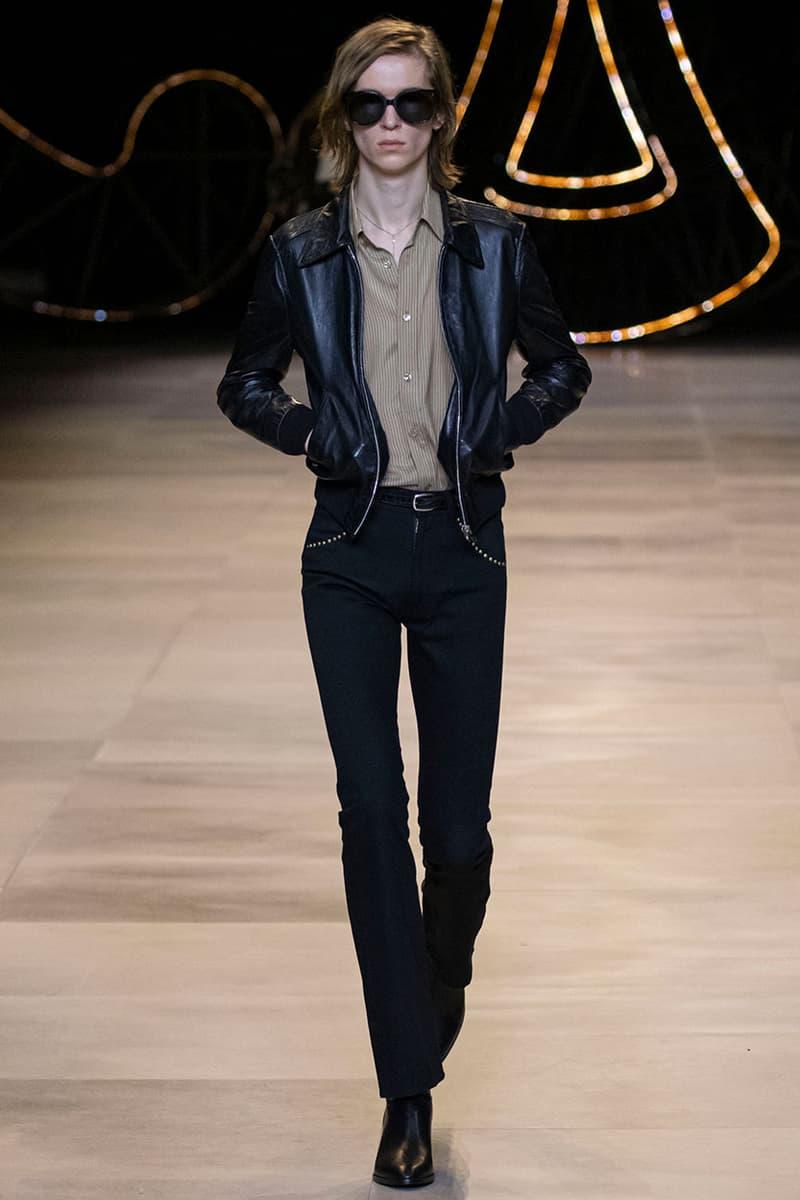 에디 슬리먼이 선보인 셀린 2020 가을, 겨울 컬렉션 런웨이 현장, 세자르 만리케, 주얼리
