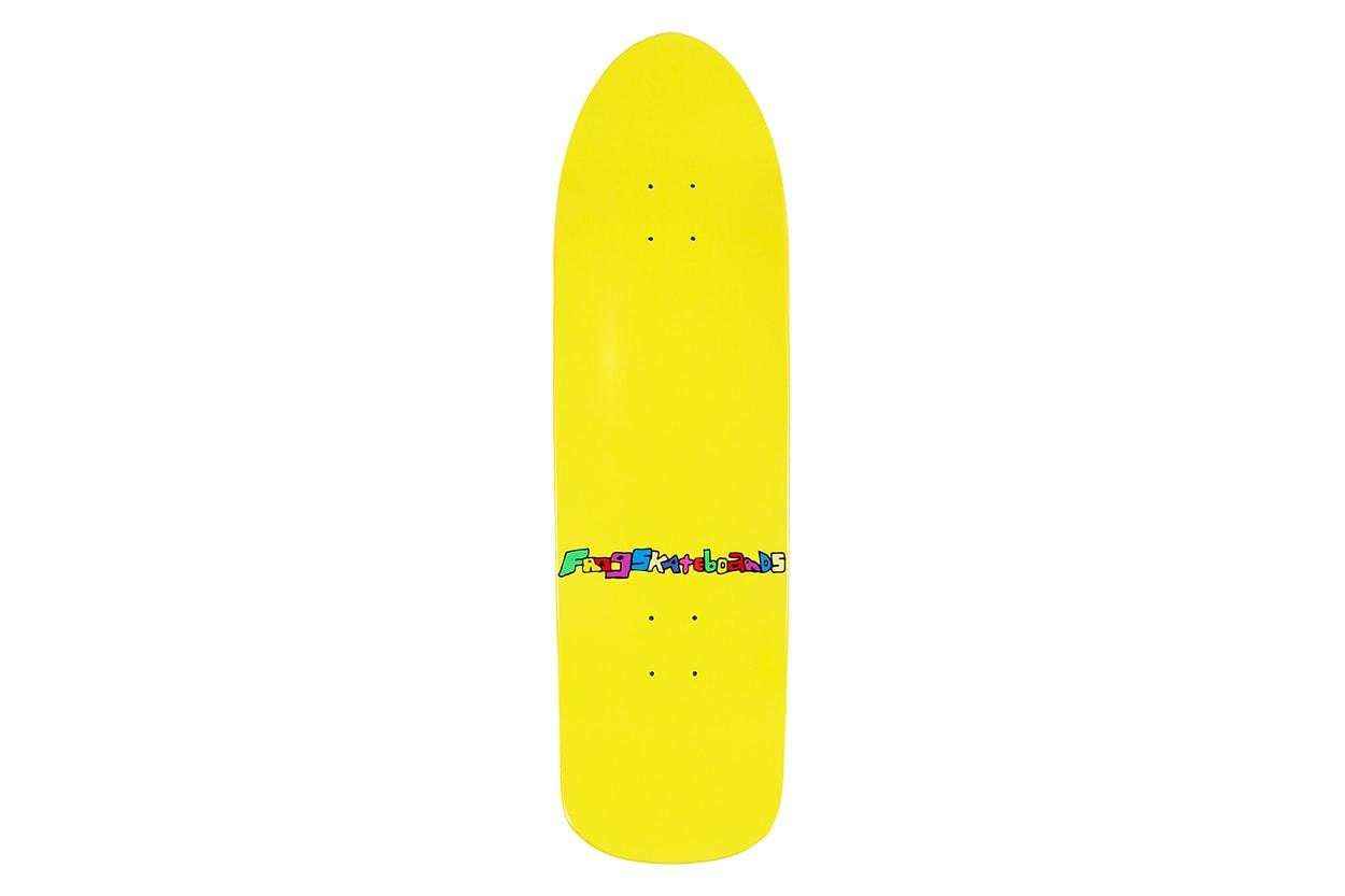 노아, 프로그 스케이트보드 협업 캡슐 컬렉션 룩북, 제품 정보