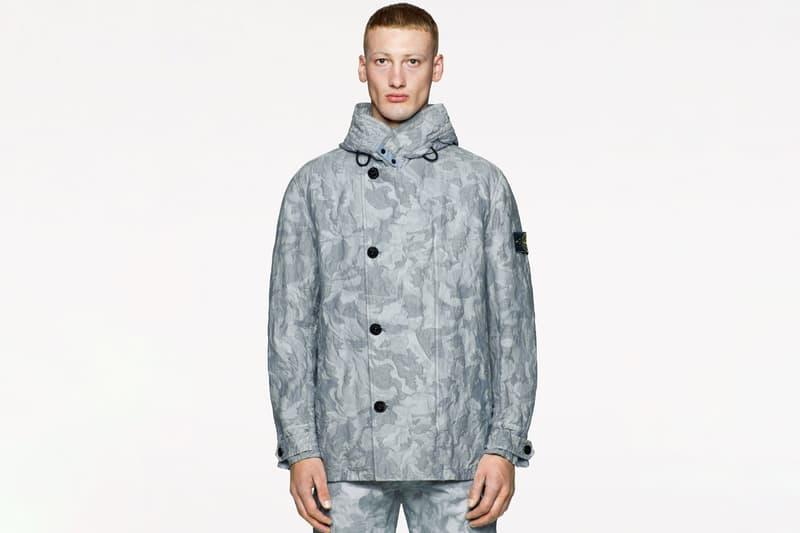 스톤 아일랜드, 카무플라주로 뒤덮인 2020 봄, 여름 'Big Looms' 컬렉션, 플라이트 재킷