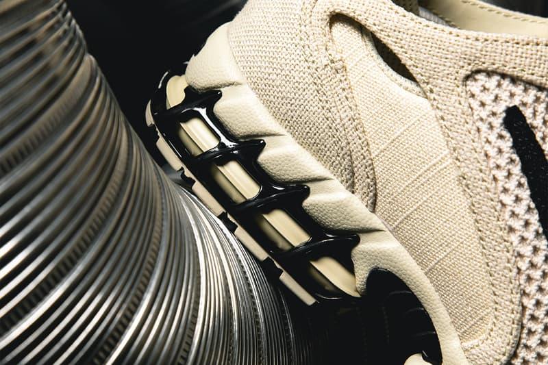 '하입비스트'가 포착한 스투시 x 나이키 에어 줌 스피리돈 케이지드 2 실물 이미지, 협업 스니커
