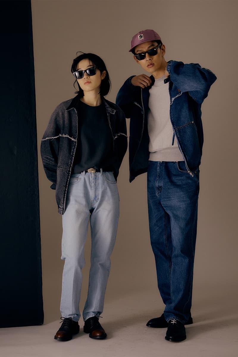 헤리티지플로스 2020 봄, 여름 컬렉션 룩북 공개, 데님 워크재킷, 나일론 코트, 옥스퍼드 셔츠