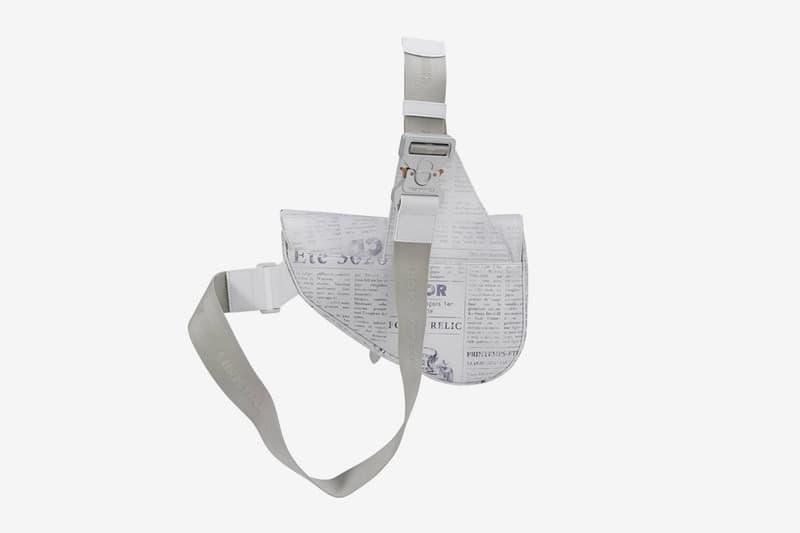 디올 x 다니엘 아샴 뉴스페이퍼 프린팅 새들 백 출시, 퓨처 렐릭, 크리스찬 디올