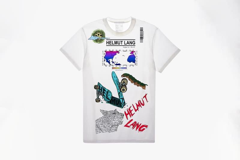 헬무트 랭, 코로나19 'STAY HOME' 그래픽 디자인 티셔츠 공모전 인스타 투표