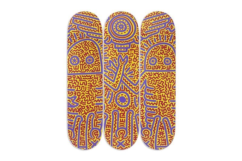 뉴욕 현대미술관 x 스케이트룸, 키스 해링 작품이 그려진 스케이트보드 데크 출시, 모마
