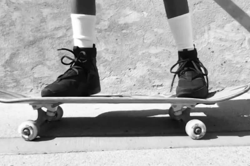 제리 로렌조의 나이키 에어 피어 오브 갓 '누아르' 화보, 사회적 거리 두기, 원격, 코로나19