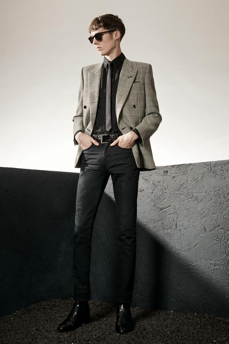 생 로랑, 2020 가을, 겨울 멘즈 컬렉션 룩북 공개, 안토니 바카렐로