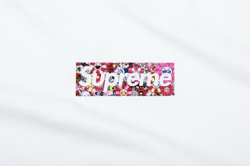 슈프림, 코로나19 기부 위한 박스 로고 티셔츠 출시, 무라카미 다카시, 헬프 USA, 박스로고티