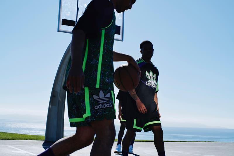 아디다스 오리지널스 x 산쿠안즈 2020 협업 컬렉션 출시, 농구 저지, 농구화, 후디