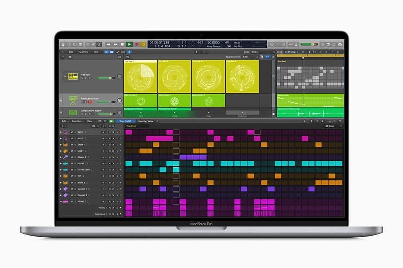 애플, 로직 프로 엑스 출시 이후 최대 규모 업데이트 공개, 라이브 룹스, 퀵 샘플러, 그래미, 빌보드, 프로듀서, DAW, 워크스테이션