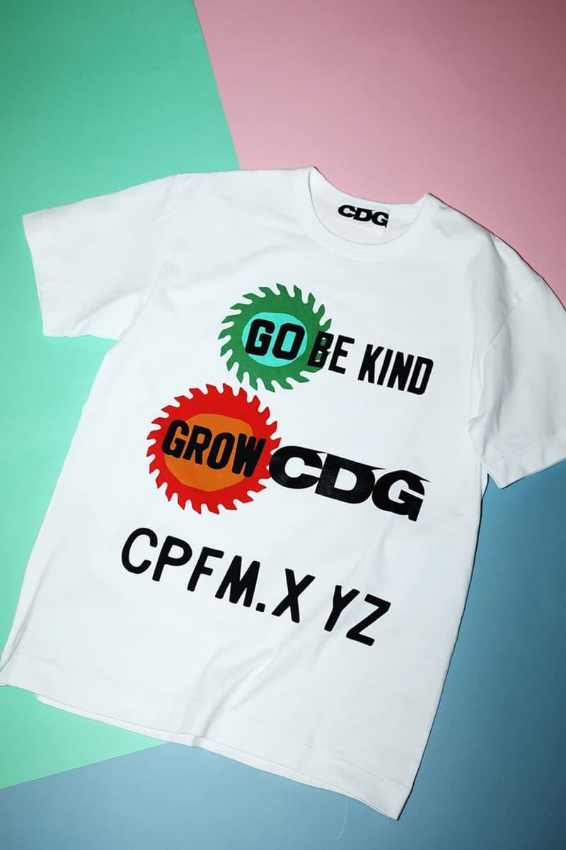 캑터스 플랜트 플리 마켓 x 꼼데가르송 2020 SS 협업 티셔츠 컬렉션 출시, 신시아 루