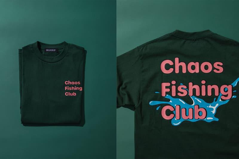 카오스 피싱 클럽 x 크록스 협업 야광 클로그 출시, 빔스 티, 티셔츠, 양말