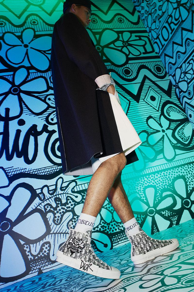 디올, 숀 스투시 & 윤과 함께 디올 2020 프리폴 컬렉션 공식 출시, 새들 백, B23, 오블리크 패턴
