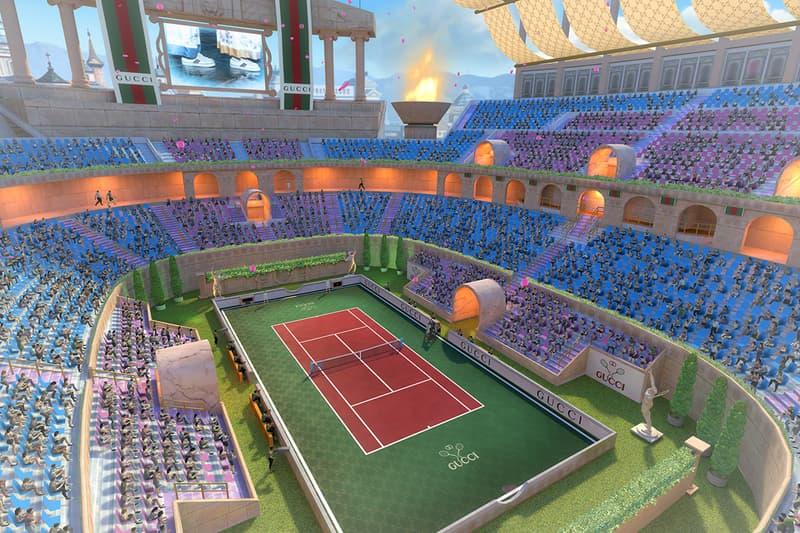구찌, 모바일 게임 '테니스 클래시'와 협업 통해 캐릭터 의상 제작