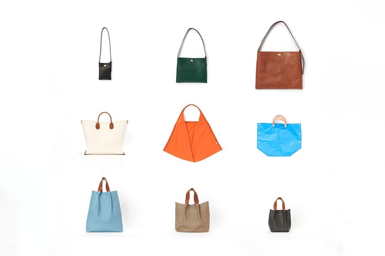 헨더 스킴 2020-2021 AW, '라이프' 컬렉션 출시, 스니커, 가방, 벨트, 화분