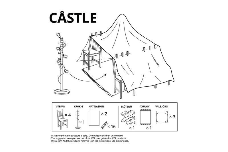 이케아, 아이들을 위한 실내용 미니 텐트 조립도 공개, 사회적 거리두기, 스테이홈, 코로나19, 스테이홈