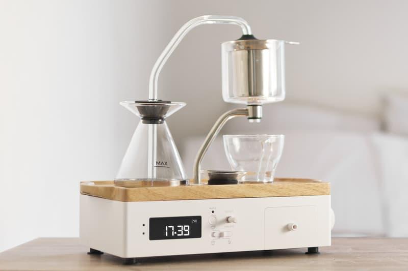 조이 리졸브, 알람 시간에 맞춰 자동으로 커피를 내리는 '바리씨얼' 이멀젼 에디션 공개, 커피 드립 머신, 조슈아 레노프
