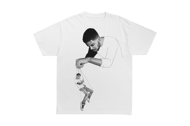 키드 커디와 버질 아블로의 협업 머천다이즈, 'Pulling Strings', 티셔츠