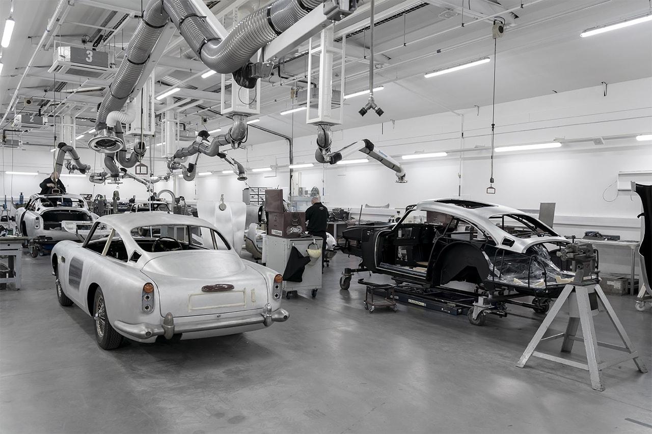 애스턴마틴, '007' 제임스 본드 자동차 'DB5' 한정판 모델 제작 나선다, 골드핑거 컨티뉴 에디션