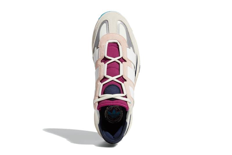 아디다스, 농구화에서 영감받은 새로운 스니커 '나이트볼' 출시. 오리지널스, 핑크 틴트, 콜리지아트 네이비