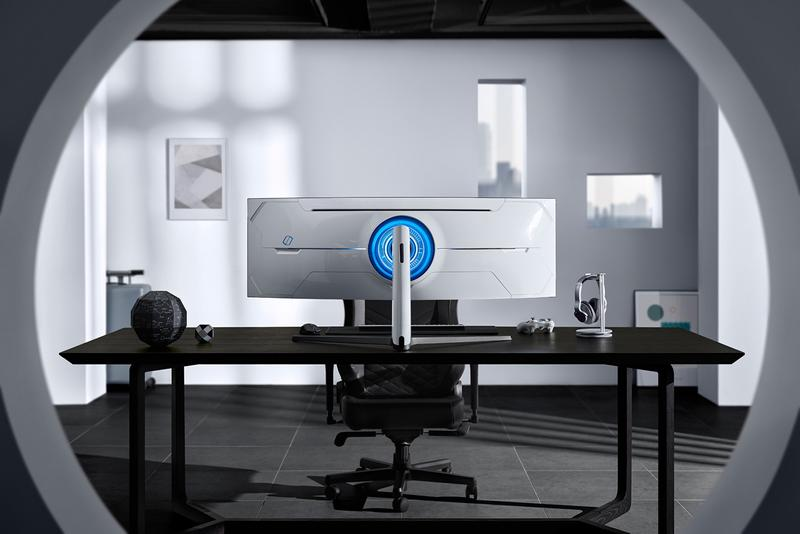 삼성, 49인치 울트라 커브드 게이밍 모니터 오디세이 G9 출시, 1000R, QLED, CES 2020