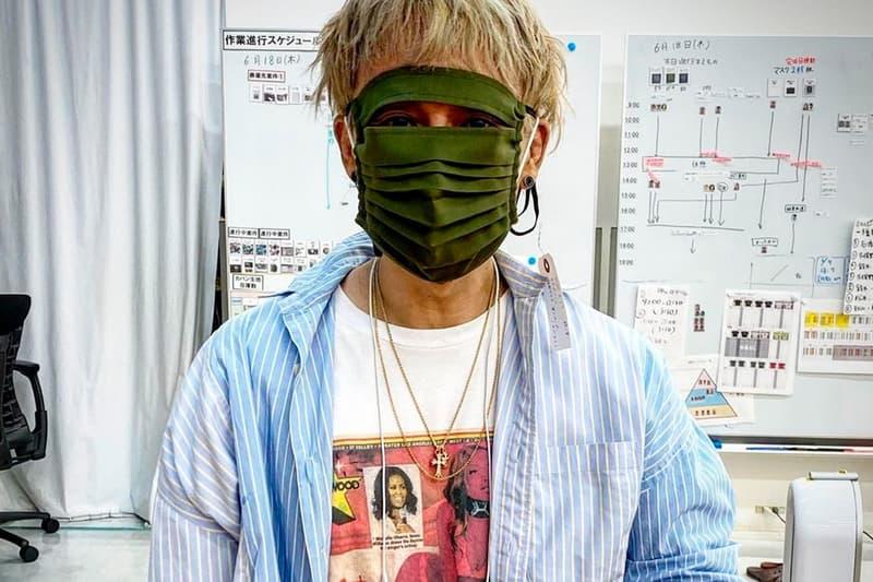 무라카미 다카시, 얼굴 전체를 덮는 닌자 마스크 공개, 체리 후쿠오카, 나루토