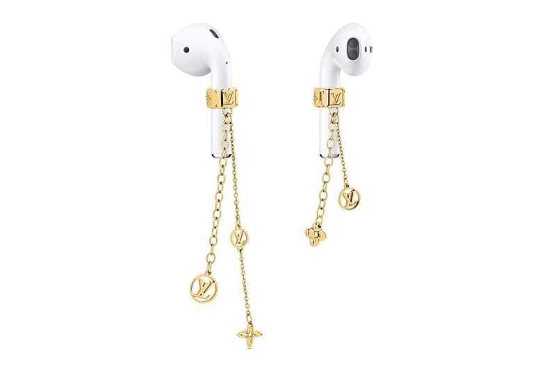 에어팟에 탈부착 가능한 루이 비통 모노그램 이어링 공개, 액세서리, 이어폰, 애플, LV 로고