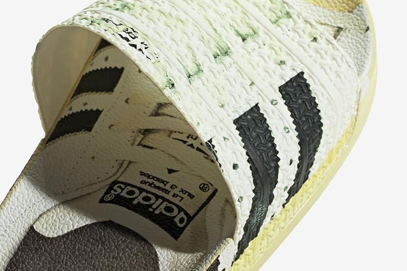 아디다스, '슈퍼스타'를 입은 '삼선 슬리퍼' 아딜렛 슬라이드 출시, 50주년, 아디다스 오리지널스