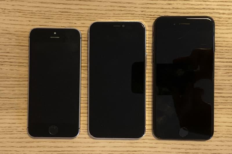 애플 아이폰 12의 실물 사진 공개, 아이폰 12, 크기, 그립감, 무게, 아이폰 SE