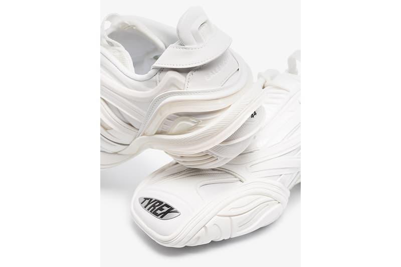발렌시아가 타이렉스 '트리플 화이트' 출시 정보 및 가격, 올흰 스니커, 화이트 스니커, 올백 스니커, 발렌시아가 신발, 트리플에스, 트리플S