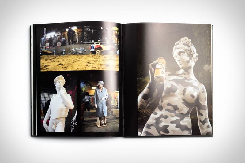 뱅크시의 역대 대표작들을 집대성한 하드커버 아트북 출시, 아마존, 영국 그래피티 아티스트