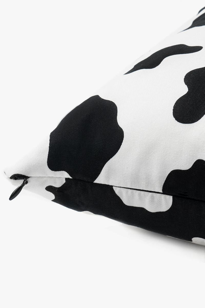 브레인데드, 카우 프린트 쇼츠 & 쿠션 출시, 캡슐 컬렉션, 브레인데드 로고, 젖소 무늬, 색반전