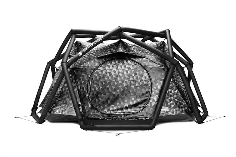 하임플래닛, 블랙 카무플라주 패턴의 케이브 텐트 출시, 캠핑용품, 독일 아웃도어 브랜드