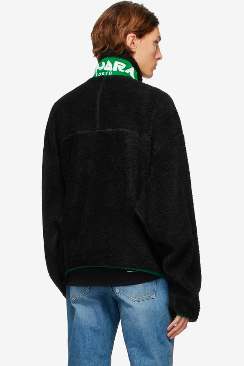 미하라 야스히로, 거대한 지퍼가 부착된 보아 재킷 출시, 플리스, 후리스, 메종 미하라 야스히로, FW 2020, 가을 겨울 컬렉션