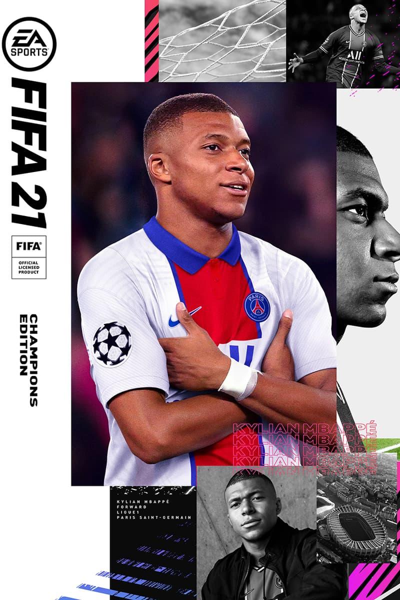 킬리안 음바페가 EA 스포츠 '피파 21'의 커버 모델을 장식했다, PSG, 파리 생제르맹, 위닝일레븐, 피파온라인4, 피온, 축구 게임, 네이마르