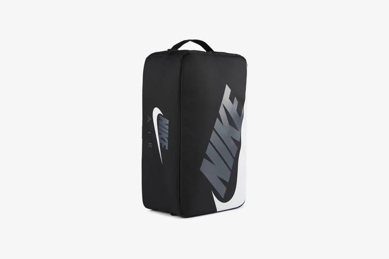 나이키, 올블랙으로 디자인한 신발 상자 모양의 가방 출시