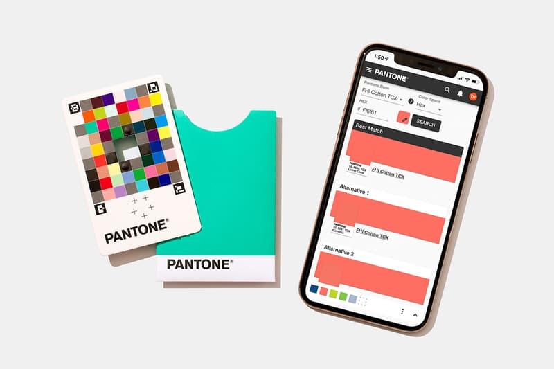 갖다 대기만 하면 색을 찾아주는 팬톤의 컬러 매치 카드 & 모바일 앱