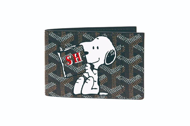 고야드, '피너츠' 스누피를 새겨 넣은 2020 협업 캡슐 컬렉션 공개, 가방, 토트백, 지갑, 모노그램, 찰리 브라운