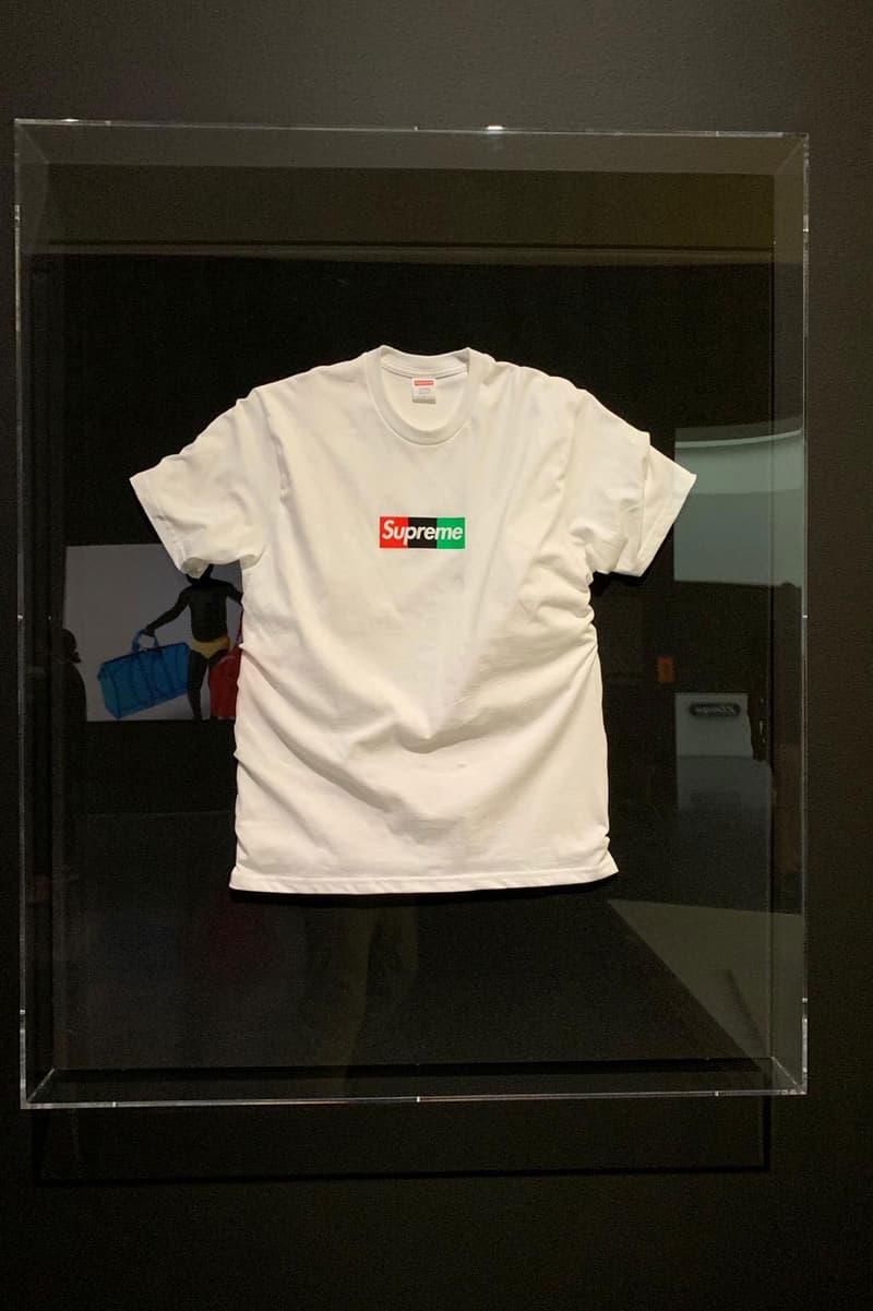 버질 아블로 x 슈프림 미공개 박스 로고 티셔츠가 중고 마켓에 올라왔다, 치프 키프, MCA, 시카고 현대 미술관, 샘플 티셔츠, 듀크스 아카이브