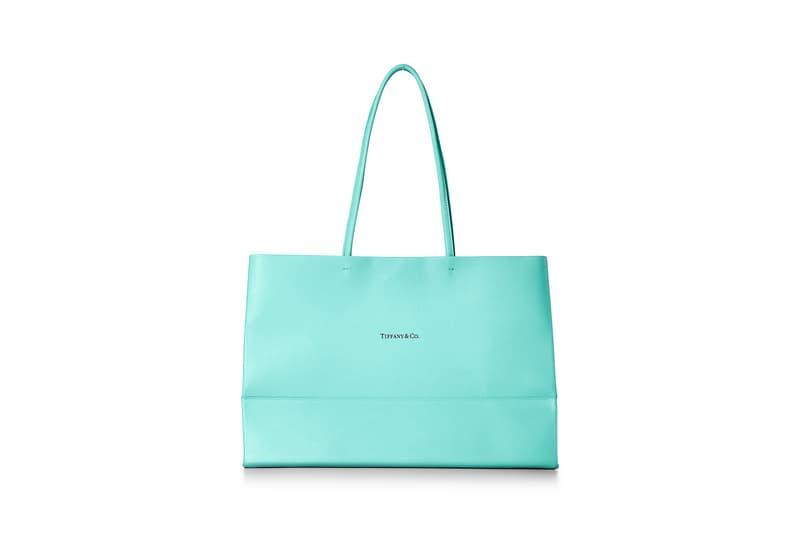 티파니앤코의 쇼핑백이 프리미엄 레더 토트백으로 재탄생됐다, 기프트백, 종이 가방, 명품 가방, 티파니