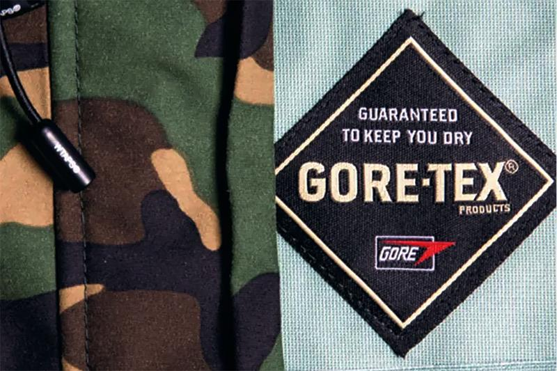 고어텍스는 어떻게 패션 업계가 가장 사랑하는 소재가 되었을까?, 고어텍스, 나나미카, 아식스, 스투시, 베이프, 하입비스트, 아크테릭스, 노스페이스, 방수 재킷, 등산 재킷, 등산복, 등산화, 테플론, 테프론, 듀폰, 싯카