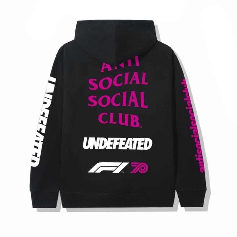 F1 70주년 기념, 안티 소셜 소셜 클럽 x 언디피티드 x F1 협업 컬렉션 출시, 2020 스페인 그랑프리, 레이싱 재킷, 자동차 경주, 스파르코, 아라이, 태극기
