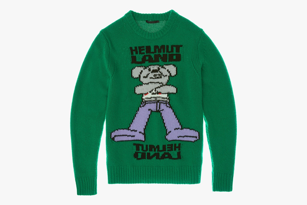 헬무트 랭, 테마파크 콘셉트의 2020 가을, 겨울 캡슐 컬렉션 '헬무트랜드' 출시, 스웨트셔츠, 스웨터, 가을옷, 후디, 스웨트팬츠, 헬뭍랭, 헬뭍랑