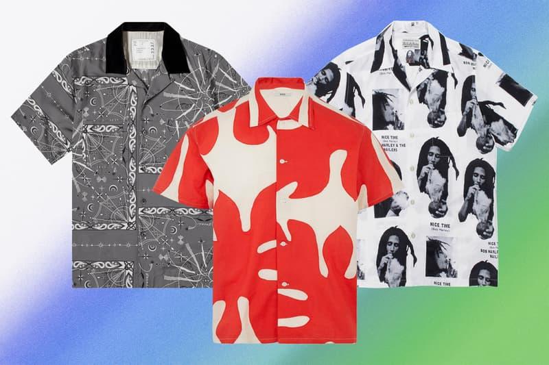 초가을까지 유용하게 입을 수 있는, 프린트 쇼트 슬리브 셔츠 추천 10가지, 버버리, 발렌시아가, 마르니, 자크뮈스, 아워레가시, 에센스, 24S