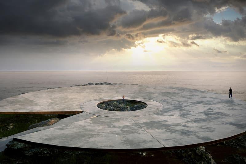 코로나 19 희생자를 위한 거대한 위령비의 모습이 공개됐다, 우루과이, 고메즈 플라테로