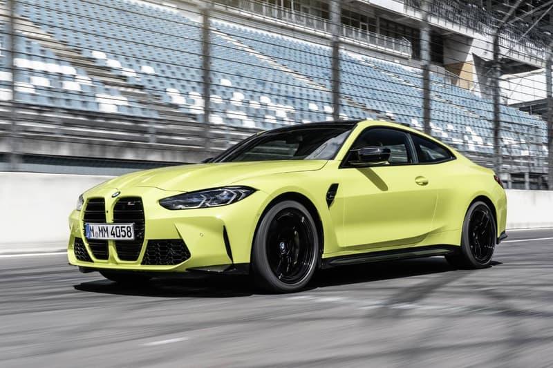 BMW, 신형 2021 M3 & M4 최초 공개, 고성능 스포츠카, 4도어 세단, 쿠페